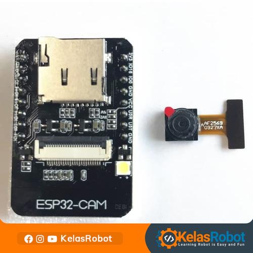 Foto Produk ESP32-CAM WiFi+Bluetooth Module Camera Module with Camera ModuleOV2640 dari Kelas Robot