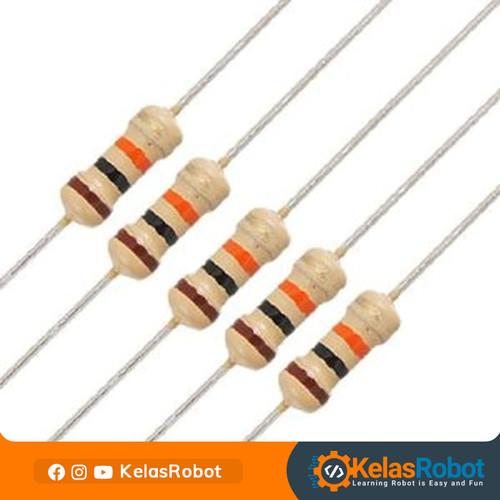 Foto Produk Resistor 10K Ohm 1/4 Watt for Arduino Project dari Kelas Robot