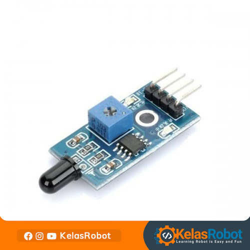 Foto Produk Flame Sensor for Arduino - Digital Output Only dari Kelas Robot