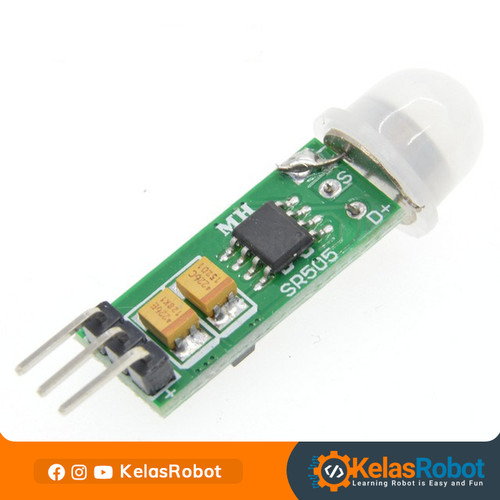 Foto Produk HC-SR505 Mini PIR Motion Sensor Module dari Kelas Robot