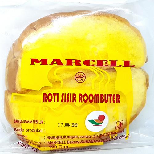 Foto Produk MARCELL ROTI SISIR ROOMBUTTER 190gr | MIRIP MATAHARI ROOM ROM BUTTER dari TOKO MITRA SIDOARJO