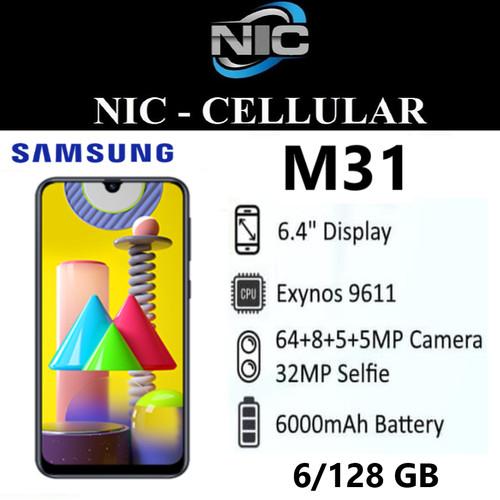 Foto Produk Samsung Galaxy M31 6/128 GB Garansi Resmi SEIN dari Nic-cell