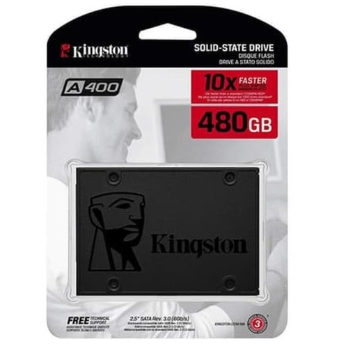 Foto Produk SSD KINGSTON 480GB NOW SA 400S37 / SSD KINGSTON 480GB dari Blessing Computer Bali