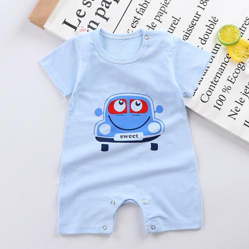 Foto Produk TSC - Romper bayi laki-laki/perempuan lengan pendek tulisan baby - CAR, 80 dari TheShoppingCenter