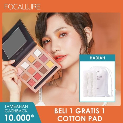 Foto Produk FOCALLURE Sunset, Burning, So Hot Eyeshadow Palette FA50 - FA50-02 dari beauty entity