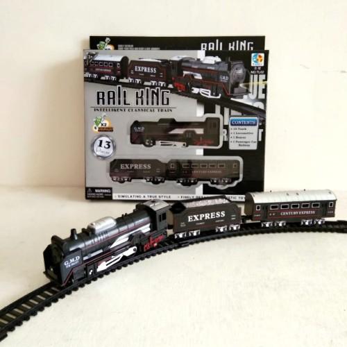 Foto Produk RAIL KING Express Train Mainan Kereta Api Anak - Anak dari StoryOfToys