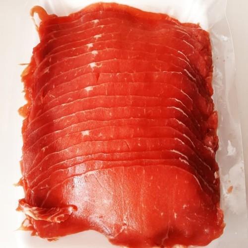 """Foto Produk Sukiyaki / Yakiniku / Shabu"""" - Daging Sapi Slice Tipis 1kg dari Master daging"""