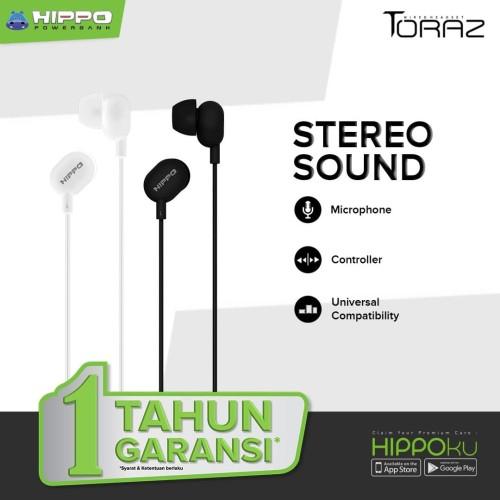 Foto Produk Headset Hippo Toraz Wired Headset Stereo Sound - Hippo Headset dari mmcroxy.onlineshop