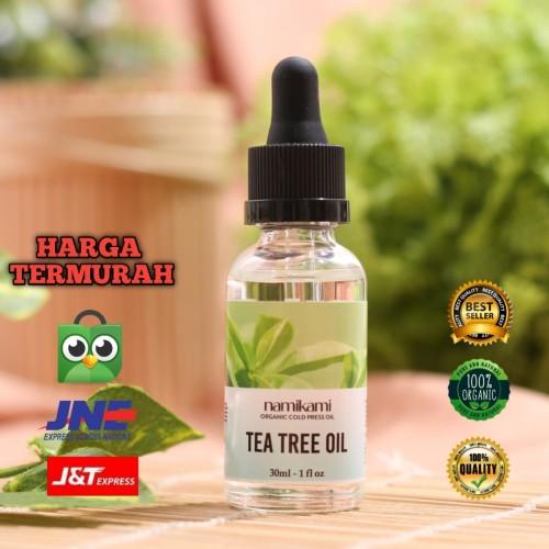 Foto Produk Tea Tree Essential Oil 30ml by Namikami | Tea Tree Essensial Oil dari namikami store