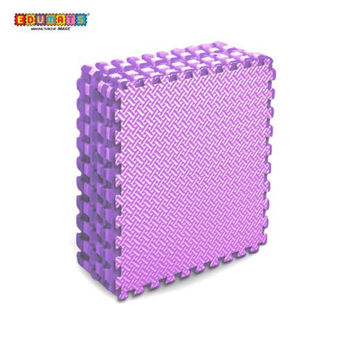 Foto Produk IMAGE TOYS edumat karpet matras Anyaman Bambu evamats Puzzle [10Lbr] - Ungu dari Image Toys