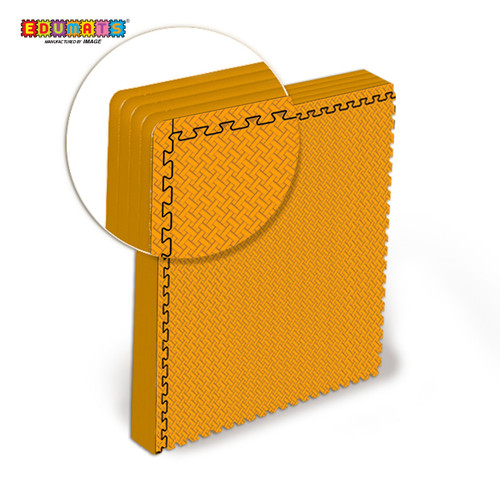 Foto Produk IMAGE TOYS edumat karpet matras 60 Anyaman Bambu evamat Puzzle [4 Lbr] - Orange dari Image Toys