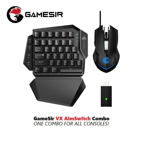 Foto Produk GameSir VX AimSwitch Wireless Console Keyboard with Mouse Gaming dari GameSir