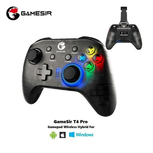 Foto Produk GameSir T4 Pro Gamepad Wireless Hybrid with Smartphone Holder dari GameSir
