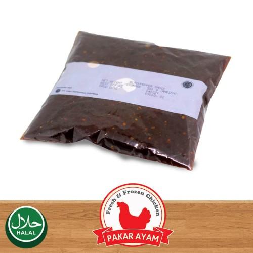 Foto Produk Saus Lada Hitam / Blackpepper Sauce Kemasan 500gr Kualitas Premium dari Pakar Ayam