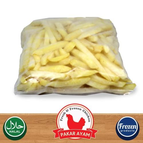 Foto Produk Kentang Goreng Beku Shoestring Avico Kemasan Repack 1kg French Fries dari Pakar Ayam