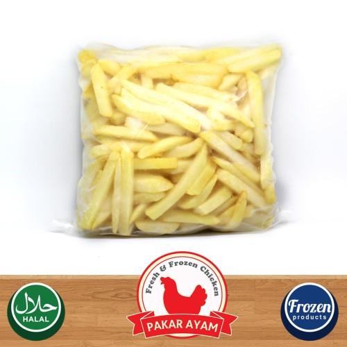 Foto Produk Kentang Goreng Beku Shoestring Avico Kemasan Repack 250gr French Fries dari Pakar Ayam