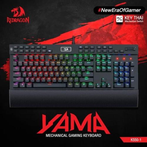 Foto Produk Redragon K550-1 Mechanical Gaming Keyboard YAMA dari manekistore