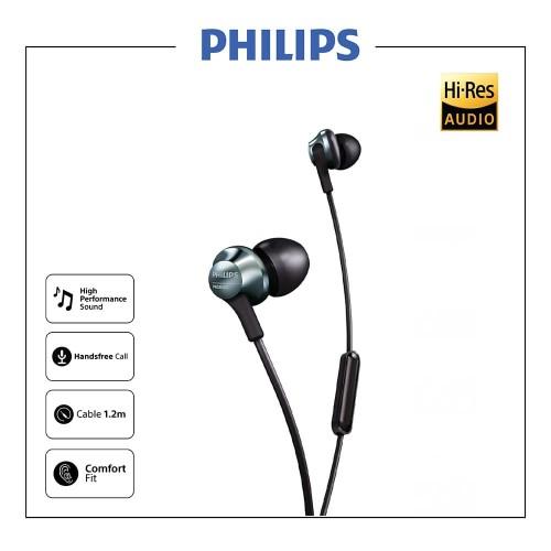 Foto Produk PHILIPS Hires Audio Earphone With Mic - PRO 6105 dari Philips Audio Official