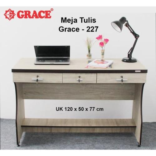 Foto Produk Meja Belajar Meja Tulis Meja Minimalis Grace MT 227 - BEST SELLER dari Brown Stores