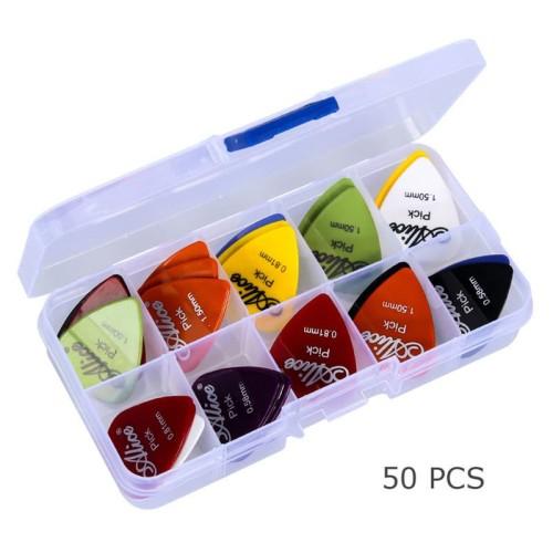 Foto Produk Alice Pick Gitar Akustik 50 PCS - Multi-Color dari Healthy Wealthy