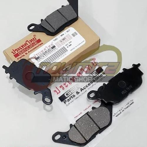 Foto Produk Paket Kampas Rem Depan Belakang Racing Thailand Yamaha NMAX dari NoLimitz Maticshop