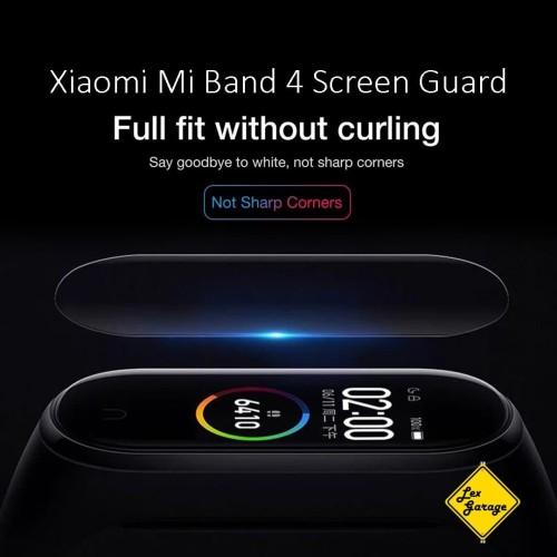 Foto Produk Anti Gores Mi Band 4 Screen Guard Protector - Soft TPU dari Lex Garage