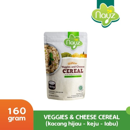 Foto Produk NAYZ CEREAL MPASI VEGGIES AND CHEESE dari Nayz Official
