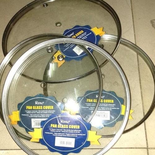 Foto Produk Tutup Kaca Untuk Panci Wajan 30 cm Pan Glass Cover dari Multi Retail Indonesia