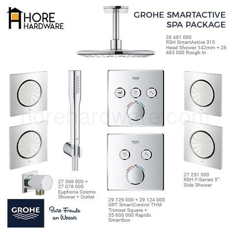 Foto Produk GROHE Paket Kamar Spa Shower Promo dari HORE Hardware