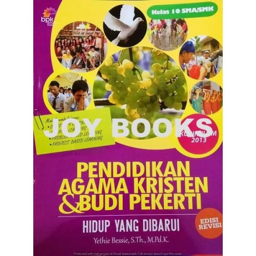 Foto Produk BUKU AGAMA KRISTEN BPK GUNUNG MULIA SMA KELAS 10 11 12 dari Joy Books