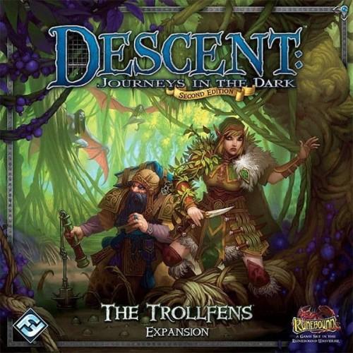 Foto Produk Descent: Journeys in the Dark (Second Edition) – The Trollfens dari Toko Board Game