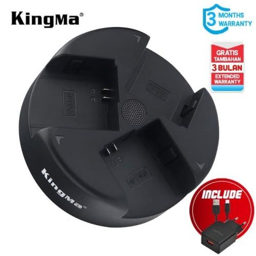 Foto Produk Charger Triple KINGMA NP-FW50 for Sony A7 A6000 A6300 A6400 - 3 Slot dari Kingma Indonesia