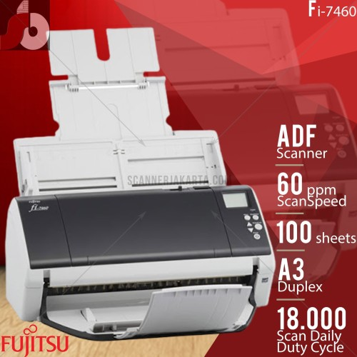 Foto Produk Scanner A3 fujitsu Fi-7460 - 60 ppm dari scanner bandung