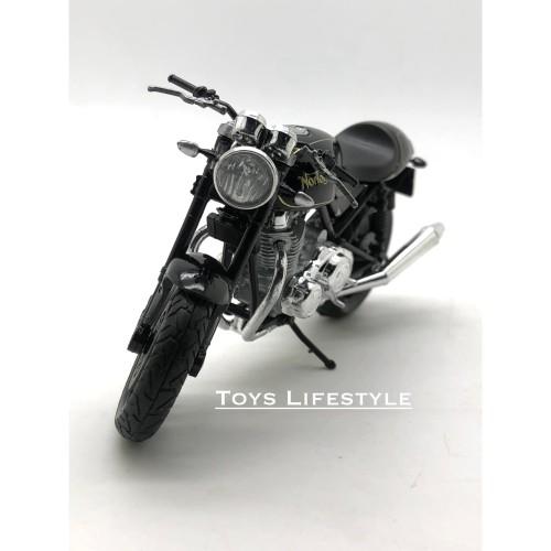 Foto Produk Welly Motor Diecast - Norton Commando 961 SE Skala 1:18 dari Toys Lifestyle
