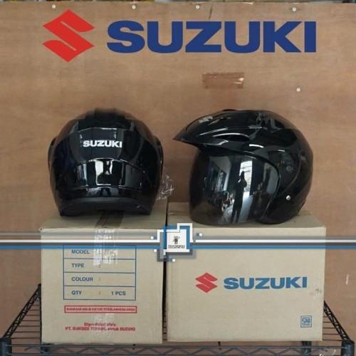 Foto Produk Helm SUZUKI Half Face / Suzuki Satria FU 150 - ORIGINAL - SUPER SALE dari Toysgraphy