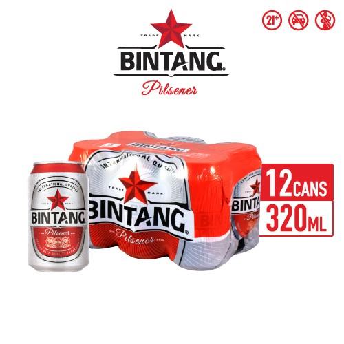 Foto Produk Bir Bintang Pilsener 320ml Can Multipack 12 dari Drink Corner Bekasi