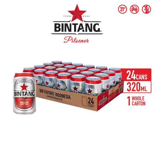 Foto Produk Bir Bintang Pilsener 320ml Can Multipack 24 dari Drink Corner Bekasi