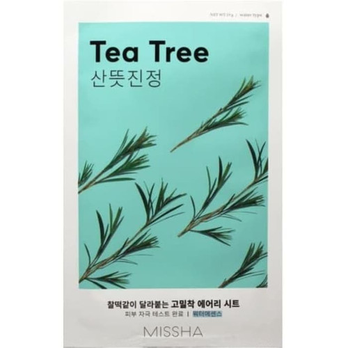Foto Produk [BPOM] Missha Airy Fit Sheet Mask 19g - TEA TREE dari HNCbeauty