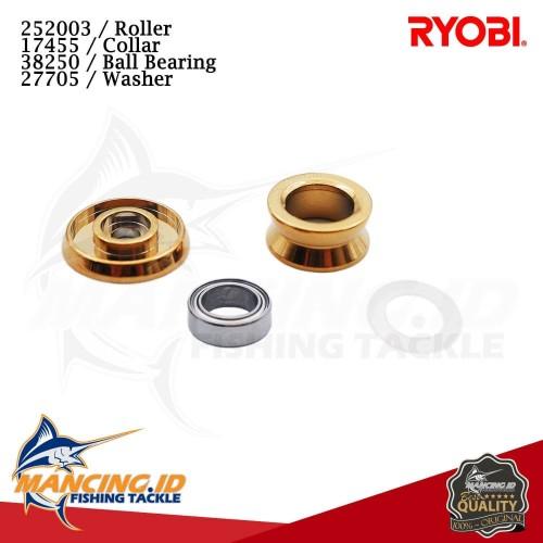 Foto Produk Sparepart Reel Ryobi 6000 & 8000 Line Roller + Bearing - UKURAN 6000 dari mancing id