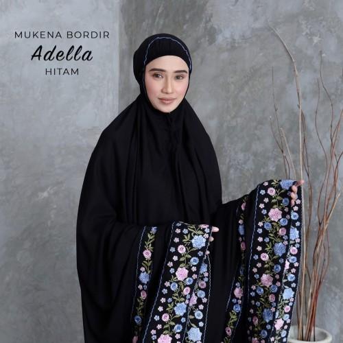 Foto Produk MUKENA DEWASA BORDIR ADELLA HITAM dari Pusat Mukena Indonesia