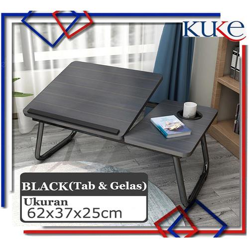 Foto Produk KUKE KLS-808 Meja Lipat Laptop /Meja laptop lipat/Oxy Folding Table - Hitam dari KUKE