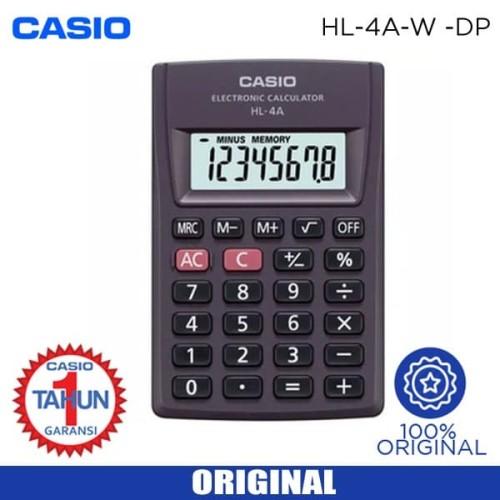 Foto Produk Calculator CASIO HL 4A dari Sinarmutiara Online