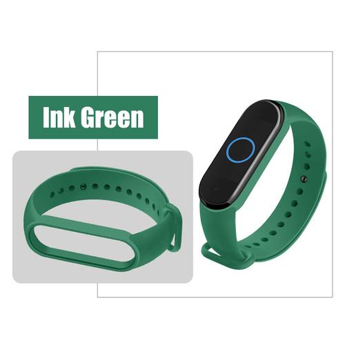 Foto Produk MIJOBS Silicone Strap Mi Band 5 Replacement Tali miband 5 Bracelet - Dark Green dari Dua Hari Jakarta
