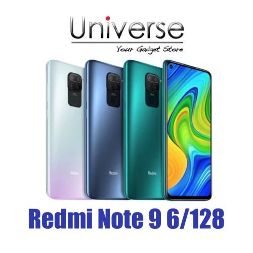 Foto Produk Xiaomi Redmi Note 9 6/128 GB - Garansi Resmi Xiaomi Indonesia - Hijau dari Universe Store