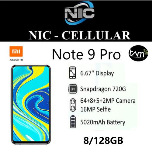 Foto Produk Xiaomi Redmi Note 9 Pro 8/128 GB Garansi Resmi dari Nic-cell
