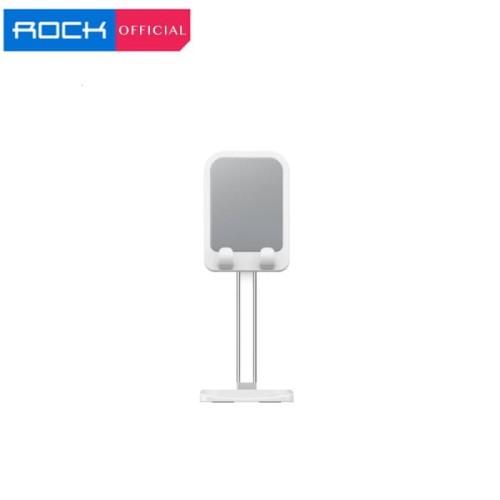 Foto Produk ROCK Mobile Desktop Bracket Liftable Version WFH Work From Home iPad - Putih dari ROCK Official Store