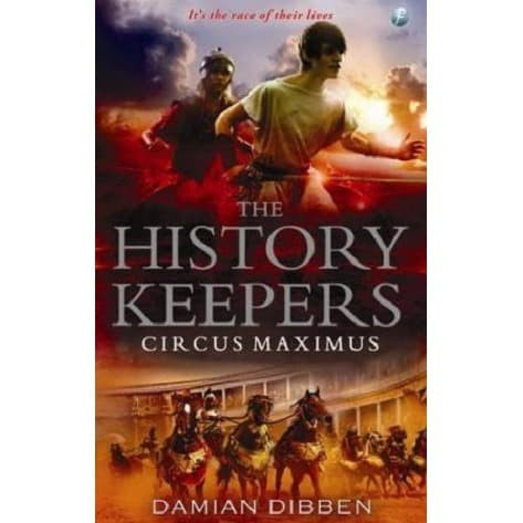 Foto Produk NOVEL THE HISTORY KEEPERS CIRCUS MAXIMUS dari Millennia Bookstore