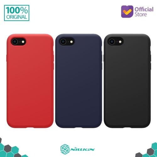 Foto Produk Case iPhone SE (2020) / 8 / 7 Nillkin Flex Pure Liquid Silicone - Hitam dari Nillkin Official