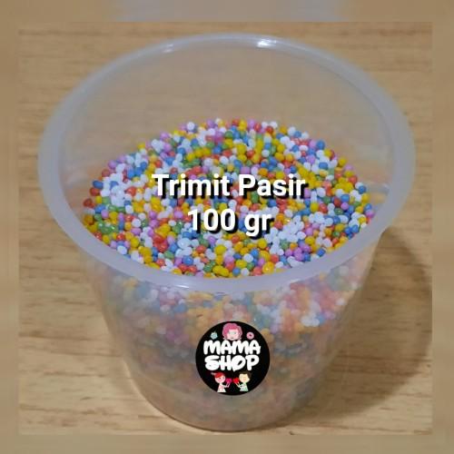 Foto Produk Spikel Trimit Hiasan Kue Gula Warna Warni Sprinkle 200 gram dari mama shop