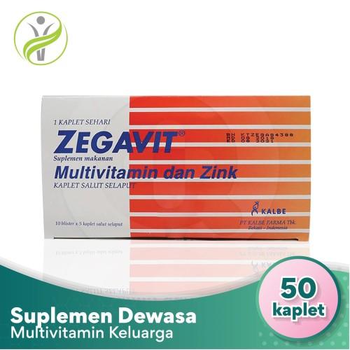 Foto Produk Zegavit - Multivitamin B, C, E dan Zinc dari Sahabat Kesehatan